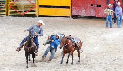 El rodeo, pasión cubana