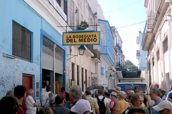 Bodeguita del Medio, auténticamente cubana