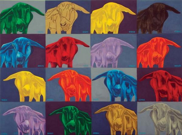 Leolvis Cantillo Frómeta El pensamiento en su pintura