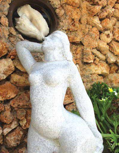 Cañizarez Méndez y la escultura en el Vedado