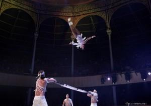 Compañía cubana gana festival de circo en España