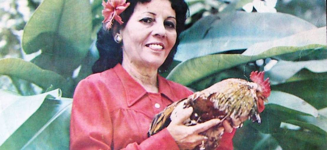 Adiós a la reina del punto cubano