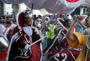 Carnavales santiagueros en julio