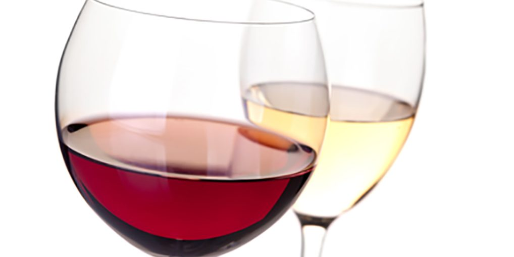 Wine collection - Red and white wine in