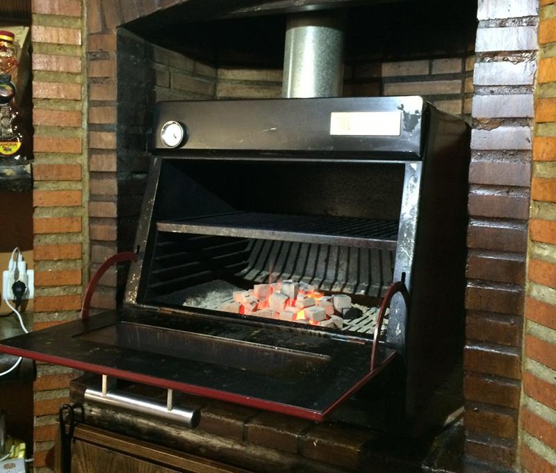 cocina brasas