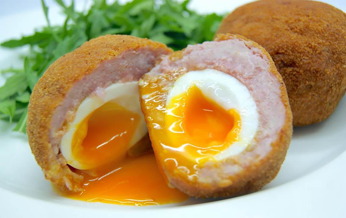 huevo escocesa
