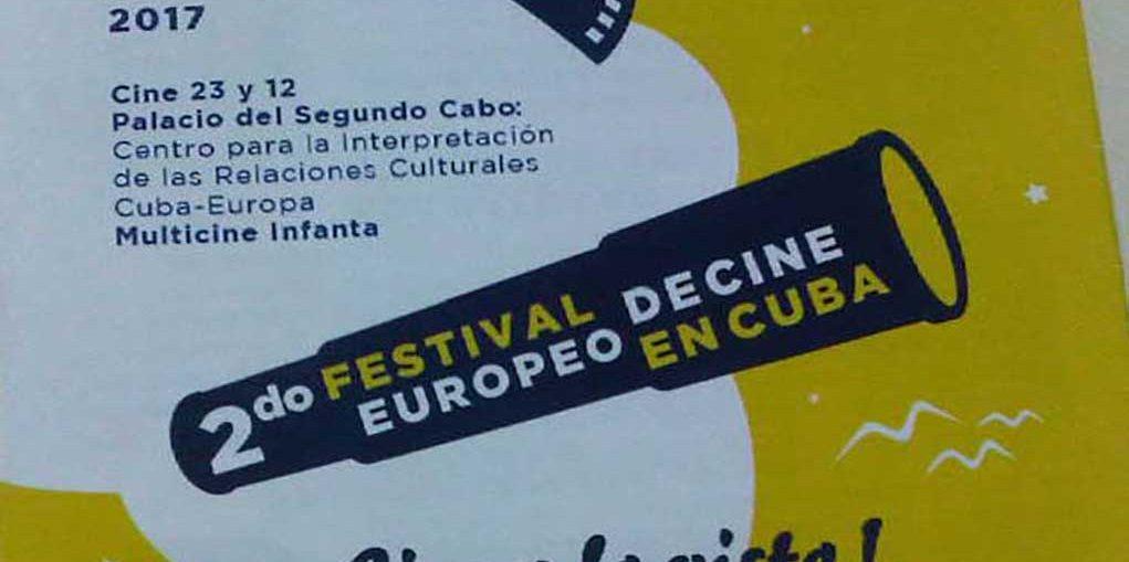 Festival de Cine Europeo en Cuba