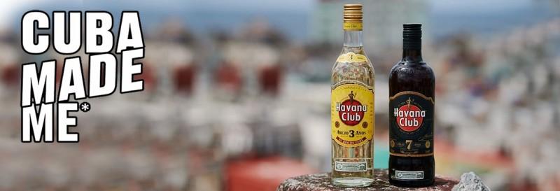 "havana club campaña ""Cuba Made Me"""