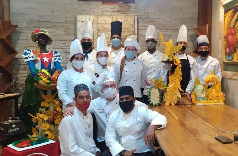 escultores culinarios cubanos