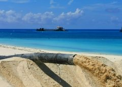 Rehabilitan espacios de playa en Cayo Paredón Grande
